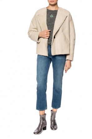 Shearling jacket with pockets od Isabel Marant
